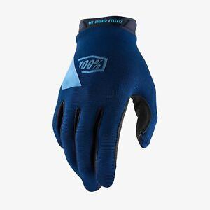Ride 100% RIDECAMP Cycling Glove Navy - SM