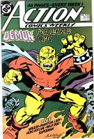 DC COMICS ACTION WEEKLY #638 VG #74327-2 BR1