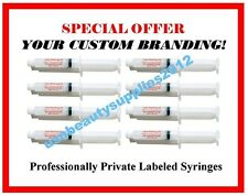 PRIVATE LABELED - 44% Teeth Whitening Gel..WHOLESALE LOT {50-10cc(ml) SYRINGES}