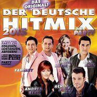 DER DEUTSCHE HITMIX - DIE PARTY 2015  CD NEU