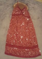 Womens Sequins all over Party Dress by Miilla Size Small - New - Red