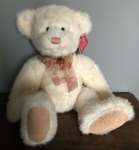 "Rare Russ Berrie & Co - 17"" Tallulah Soft Plush Teddy Bear Toy"