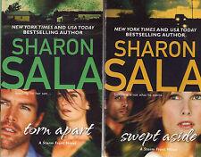 Complete Set Series - Lot of 3 Storm Front books Sharon Sala (Romantic Suspense)