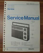 Radio 90AL570 Philips Service Manual Serviceanleitung
