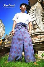 Rohingya Fisherman Hose Myanmar Burma Burmese Thai Laos Goldenes Dreieck 1102