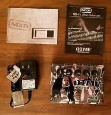 Dunlop MXR Dime DD11 Distortion Guitar Effect Pedal