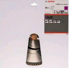 Bosch Sierra circular de 2608640450 material de múltiples Blade, 254 X 30 X 3,2 mm, 80