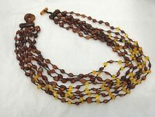"Strand/String Amber 20 - 21.99"" Fine Necklaces & Pendants"