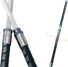 2 in 1 Black Double Bladed Ninja Sword Staff Spear