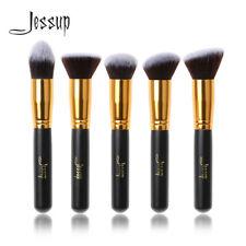 Jessup 5Pcs Kabuki Face Makeup Brush Set Powder Foundation Blush Contour Tool