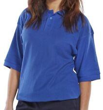 Damen-Poloshirts mit Button Down-Kragen in Größe XL
