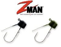 Z-Man Finesse ShroomZ Weedless Ned Rig, Zman Fishing Lure Jigheads 1/5 oz 5 Pack