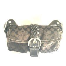 Coach Bags Purses Handbags Black Pre-Owned 100% Authentic