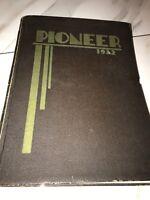 Pioneer 1932 Sacramento Junior College Yearbook California Bank Of America Ad