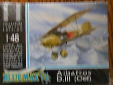 1/48 Blue Max ALBATROS D.III(Oef) Fighter Limited Ed. w/Metal detail parts OOP