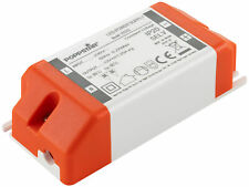 Poppstar LED Trafo Transformator 230V AC / 12V DC 1.25A 15W (Watt)