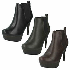 Synthetic No Pattern Ankle Women's Boots