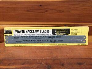 NOS Sears Craftsman Power Hacksaw Blade 65889 / 12x18T High Speed Steel - Sweden
