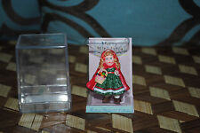 Hallmark Merry Miniatures Madame Alexander Little Red Riding Hood 1991 Mint Mib