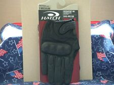 Hatch Operator HardKnuckle SOGHKL100 Tactical Gloves Black NEW