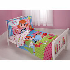 "4 pcs Lalaloopsy ""PICKLES B.L.T"" Toddler Bed Set ~ Quilt and Toddler Sheet Set"