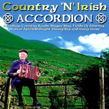 COUNTRY AND IRISH ACCORDEON / ACCORDION NEW CD EASY LISTENING INSTRUMENTAL MUSIC