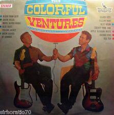 The VENTURES The Colorful Ventures LP 1960's Surf Guitar