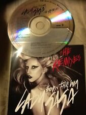 LADY GAGA - BORN THIS WAY - THE REMIXES - 8 REMIX US CD PROMO