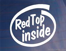 Haut rouge à l'intérieur de Voiture / Fenêtre / autocollant idéal pour XE moteur Vauxhall / Opel Astra