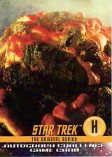 Star Trek Original Series Season 1 Autograph Challenge Card H Horta TOS
