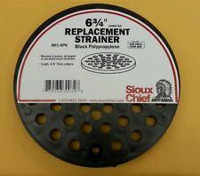 """Sioux Chief Floor Drain Cover 6-3/4 """" Dia x 3/8 """" D Black"""