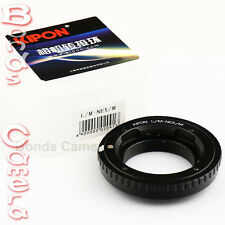 Kipon Leica M mount Lens to Sony E NEX Adapter Macro Focusing Helicoid NEX-5T A7