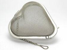"""new 2.3/4""""( 7 cm ) JUMBO Stainless steel mesh heart shaped tea infuser"""