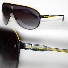 Shield Sonnenbrille Ferrera Brille Herren u. Damen gelb Metall Designer 856