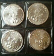 Lot of Four 1972 1oz Silver Universaro Rounds