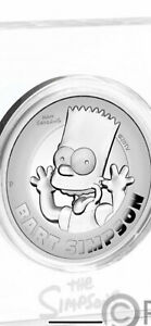 2oz High Relief Coin Bart Simpson's 2022 Per Order Posted Mid Nov Per Order .