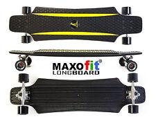 MAXOfit® Kunststoff Longboard (gelb) XP 5.0, 92 cm