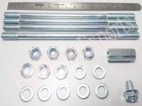 Cylinder securing fixing stud M7 4 nut washers Vespa VBB VBA VBC VLB VNL Sprint