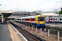 PHOTO  2010 CLASS 378 UNIT NO 378 009 RICHMOND RAILWAY STATION LONDON OVERGROUND