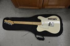 Fender Standard Telecaster Olympic White Made in Mexico GREAT CONDITION W/ GIG B