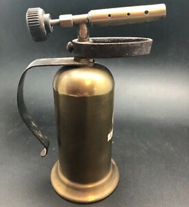 Vintage Brass Alcohol Torch LENK
