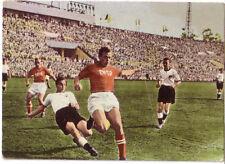 Fußball SAMMELBILD HEINERLE LS MOSKAU 1955 UdSSR - DEUTSCHLAND *E. JUSKOWIAK F95