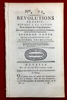 Nancy en 1790 Gardes Suisses Café Procope Hôpital Pitié Salpetrière Mortagne