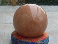 SFERA GIGANTE PIETRA DI LUNA rosa A++ esoterismo divinazione astrologia salute
