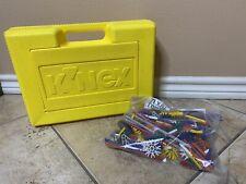 Vintage 90s K'Nex Toy Storage Box And Pieces Lot Vintage Toys American