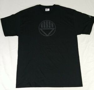DC Comics Green Lantern Black Lantern Corps Logo Graphic T-Shirt Adult L NWOT