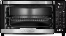 12 in 1 Digital Air Fryer Toaster Oven Black