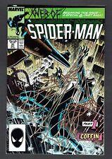 Web of Spider-Man #31 Marvel 1987 VF+ Kraven's Last Hunt 'The Coffin' Pt 1 Zeck