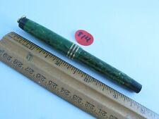Circa 1929 Jade Green Parker Duofold Fountain Pen