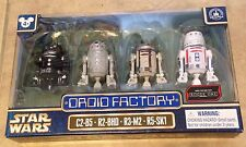 Star Wars Droid Factory set of 4 NEW Disney Park Exclusive Rogue One Astromech